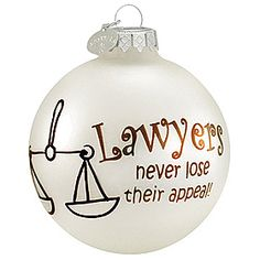 lawyer #law #lawyer #Christmas #ornament $8.99 #BronnersChristmasWonderland #Bronners