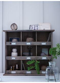 Wooden Box Unit Cox & Cox £105