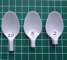 How to make a model. Plastic Spoon Rose Pendant - Step 1