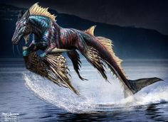 Hippocampus design for the movie Percy Jackson:Sea of Monsters by Alfonso De La Torre.
