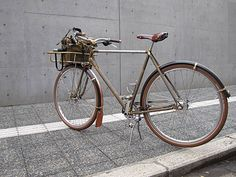 REW10 Blacksmith. The Blacksmith bike from Japan's REW10 workshop sums up the meaning of wabi-sabi well.