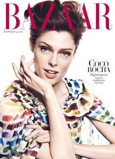 Harper's Bazaar Australia April 2014 | Coco Rocha