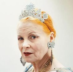 dame vivienne westwood in her paper parure punk rock, icon, vivienn westwood, punk fashion, fashion art, the queen, british fashion, vivienne westwood, fashion designers