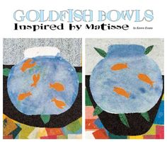 "This 11-year-old lesson is still going strong ... ""Goldfish Bowls Inspired by Matisse,"" from our October 2001 issue. http://www.artsandactivities.com/Itwkspg75/A100130.html goldfish bowl, bowl inspir"