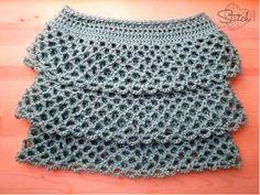 skirt free, free pattern, ruffl crochet, crochet skirts, crochet patterns