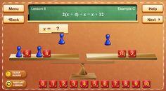 Best math apps for older kids: Hands-On Equations app