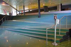 Wheelchair access stair design.