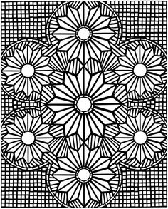 3D designs - Coloring Pages
