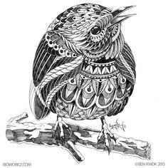 Prairie Warbler (Work in progress) by BioWorkZ.deviantart.com on @deviantART
