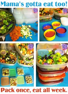 Pack once, eat all week with EasyLunchboxes