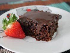 Receita de bolo de chocolate sem farinha   Receitas Supreme