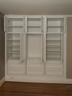 High Park two built-in closets