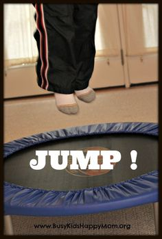 Trampoline Fun for Busy Kids