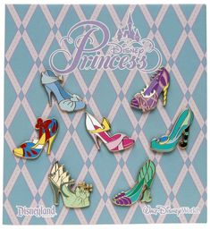 Shoes! Shoes! Shoes! Princess Shoe Pins Coming Soon To Disney Parks (late 2012) Watch for a matching softlines too! MouseTalesTravel.com