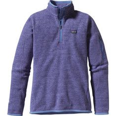 Patagonia Better Sweater 1/4 Zip 25616 - Railroad Blue - Free Shipping & Return Shipping - Shoebuy.com