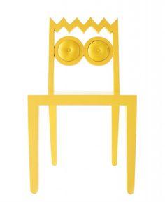 Que máximo! Empresa tailandesa cria cadeiras com formato de personagens dos Simpsons