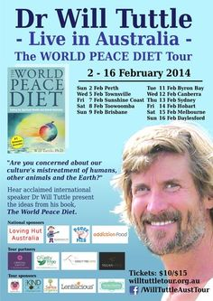 Will Tuttle #Speaking #Tour #February - #Australia & New Zealand