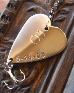 Eighth Bronze Anniversary Gift 8th Wedding By CandTCustomLures