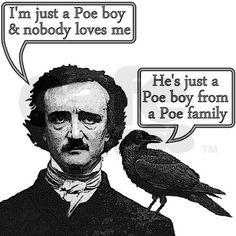 English humor. Edgar Allen Poe.