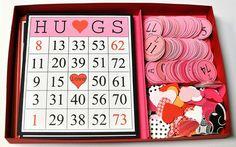 valentine crafts, galleries, bingo game, valentine day crafts, valentin bingo