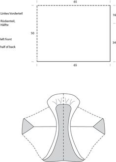 model, cocoon poncho, machine knitting patterns, knit pattern