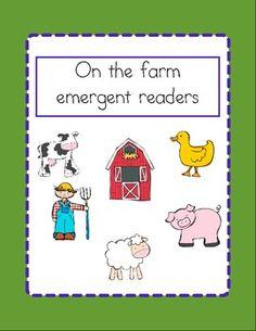 Farm emergent reader pack $3.00