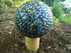 glass bowling ball