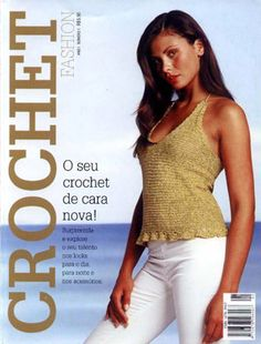 Crochet fashion № 1. En portugués