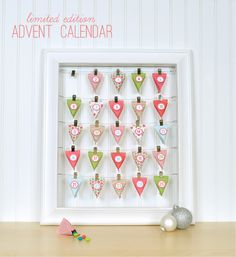 NEW Advent Calendar with Treat Boxes