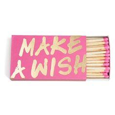 Make A Wish Matches