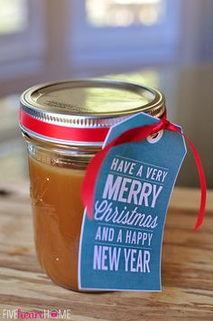 gift, homemad caramel, homemade caramel sauce
