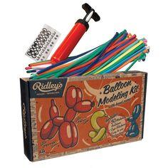Ridley's Balloon Modelling Kit for kids