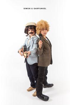 Little Musicians Costume: Simon & Garfunkel