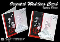 Quilled Wedding invitation card