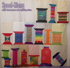 2014 Spoolalong quilt BOM