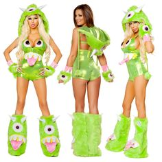 One Eyed Monster Romper [JVJJ174-177] - $238.95 : Clubwear, Pole Dancing Clothes, Exotic Wear and Stripper Clothes