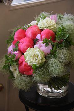 peony,rose and cotinus