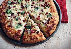Herbed Chicken Mediterranean Pizza from Carpe Season
