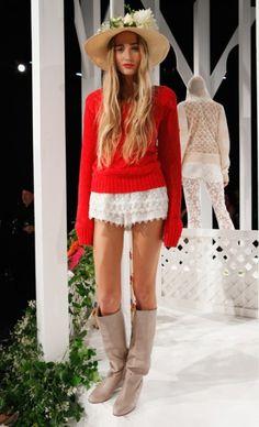 Mercedes-Benz Fashion Week : CANDELA SPRING 2013