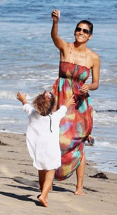 Halle Berry and her daughter Hall Style, Gorgeous Hall, Hall Berri, Daughter Nahla, Halle Berry