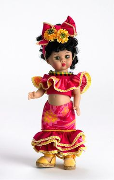 """dolls of the world """"cuba"""" ~ by madame alexander"""