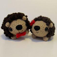 NEW Amigurumi Hedgehog crochet pattern  by Ana Paula Rimoli