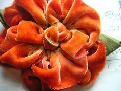 rich persimmon flower