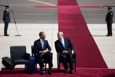What is Obama really up to with his visit to Israel? John Cassidy has some thoughts: http://nyr.kr/YrNpT09 (Photograph by Uriel Sinai/Getty.)