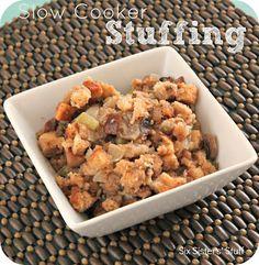 Six Sisters' Stuff: Slow Cooker Stuffing Recipe