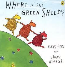 Where is the Green Sheep? ((Concept book: colors))