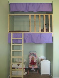 Weve Got Our Hands Full: A Closet Treehouse.  Convert a closet into a fun play area for the kids.  A closet treehouse!!  What a clever idea!