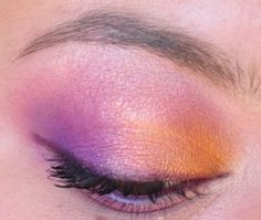 A bright look using Sweet Libertine's Dragon City, brought to you by Sheila of the Painted Ladies! sweet libertin, beauti board, day makeup, signatur color, lesli style, purpl eye