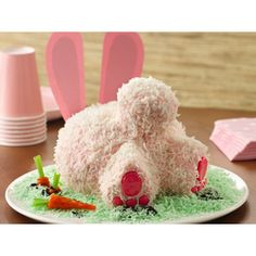 How cute! #Bunny Butt Cake  Our Favorite #Easter #Cakes