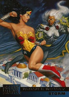 Wonder Woman and Storm